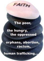 Compassion rocks fixed