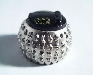 Selectric type ball