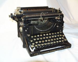 Underwood tpewriter