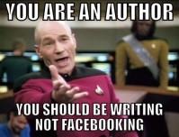 Writing not facebooking