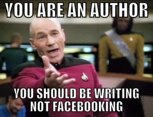 Writing not facebooking